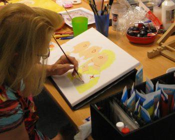 Creatieve MGS vrijwilliger