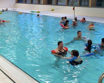 Zwemmen met gehandicapten