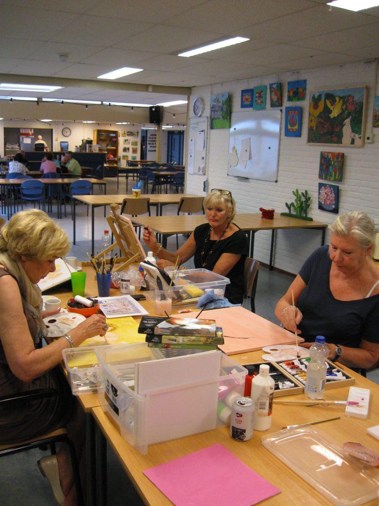 Creatieve vrijwilligers MGS